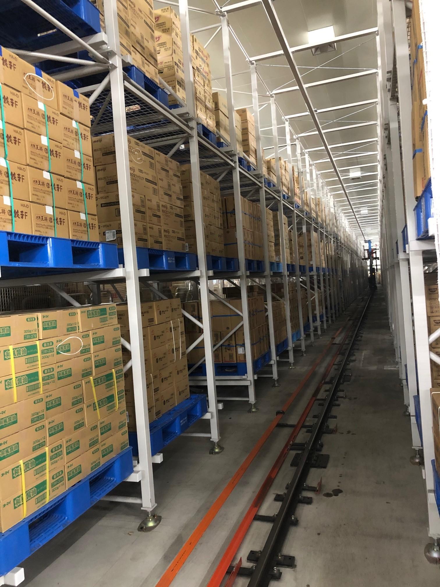 ※協会会員社食品卸企業の冷凍倉庫